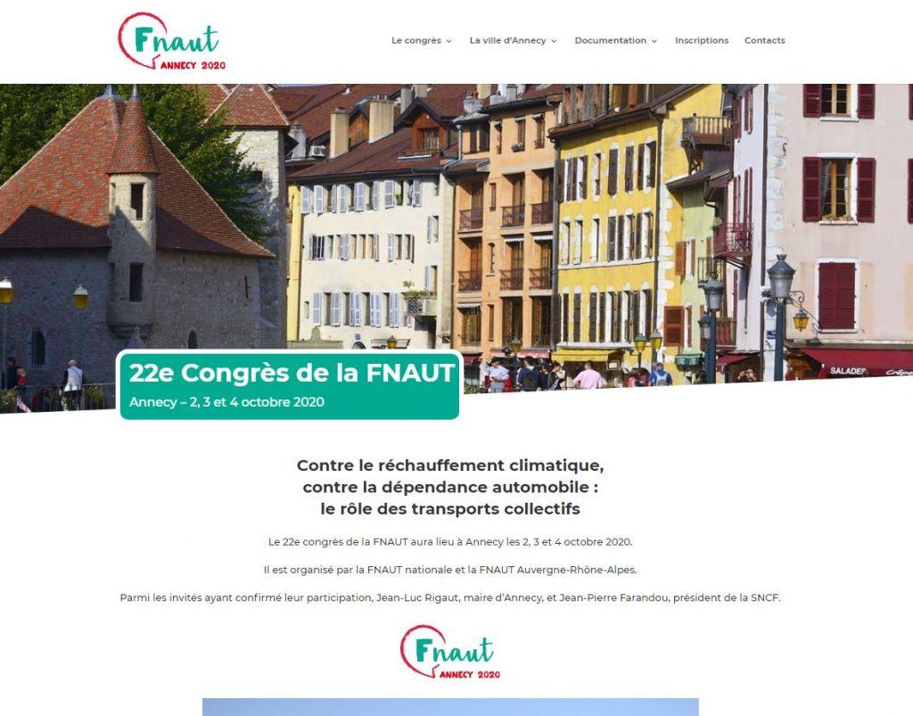 Congrès de la Fnaut 2020